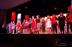 Seniors take the stage in fall performance of High School Musical. Photo courtesy of Marc Vogt.