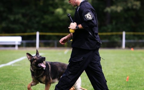 Talk of Drug Dogs at Portsmouth High School