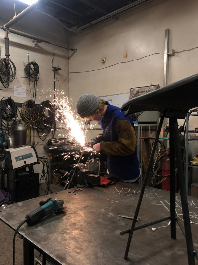 A Workshop for Student Welders